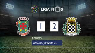 Liga NOS (15ªJ): Resumo FC P.Ferreira 1-2 Boavista FC