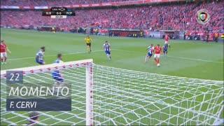 SL Benfica, Jogada, F. Cervi aos 22'