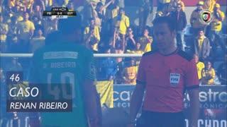 Estoril Praia, Caso, Renan Ribeiro aos 46'