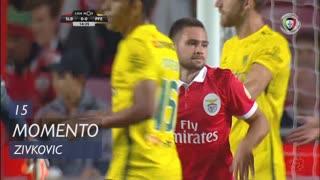 SL Benfica, Jogada, A. Zivkovic aos 15'