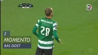 Sporting CP, Jogada, Bas Dost aos 2'