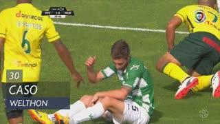 FC P.Ferreira, Caso, Welthon aos 30'