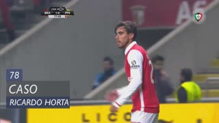 SC Braga, Caso, Ricardo Horta aos 78'