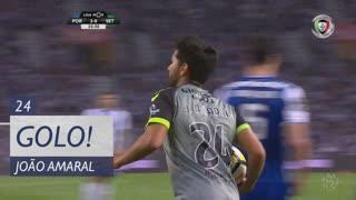 GOLO! Vitória FC, João Amaral aos 24', FC Porto 3-1 Vitória FC