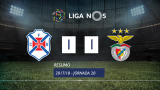 Liga NOS (20ªJ): Resumo Os Belenenses 1-1 SL Benfica