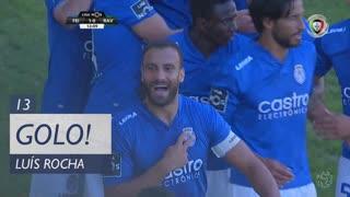 GOLO! CD Feirense, Luís Rocha aos 13', CD Feirense 1-0 Rio Ave FC