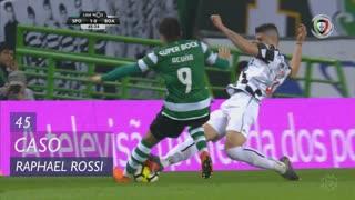 Boavista FC, Caso, Raphael Rossi aos 45'