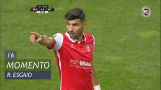 SC Braga, Jogada, Ricardo Esgaio aos 16'