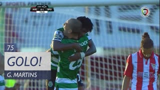 GOLO! Sporting CP, Gelson Martins aos 75', CD Aves 0-2 Sporting CP