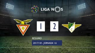 I Liga (16ªJ): Resumo CD Aves 1-2 Moreirense FC