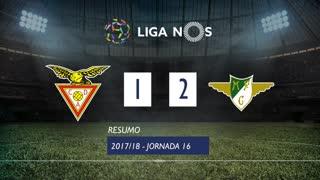 Liga NOS (16ªJ): Resumo CD Aves 1-2 Moreirense FC