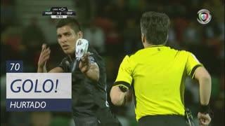 GOLO! Vitória SC, Hurtado aos 70', Marítimo M. 3-2 Vitória SC