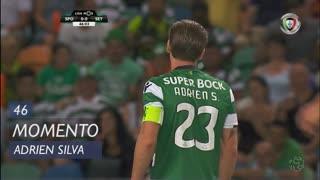 Sporting CP, Jogada, Adrien Silva aos 46'