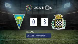 Liga NOS (9ªJ): Resumo Estoril Praia 0-3 Boavista FC