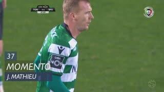 Sporting CP, Jogada, J. Mathieu aos 37'