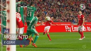 SL Benfica, Jogada, F. Cervi aos 34'