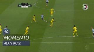Sporting CP, Jogada, Alan Ruiz aos 40'