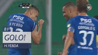 GOLO! Belenenses, H. Yebda aos 81', Belenenses 1-1 FC P.Ferreira