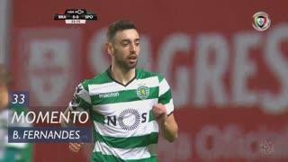 Sporting CP, Jogada, Bruno Fernandes aos 33'
