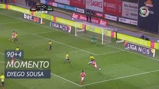 SC Braga, Jogada, Dyego Sousa aos 90'+4'