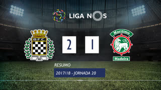 I Liga (20ªJ): Resumo Boavista FC 2-1 Marítimo M.