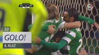 GOLO! Sporting CP, B. Ruiz aos 50', Sporting CP 2-0 Marítimo M.