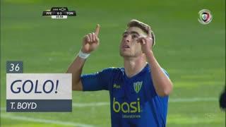 GOLO! CD Tondela, T. Boyd aos 36', FC P.Ferreira 0-2 CD Tondela