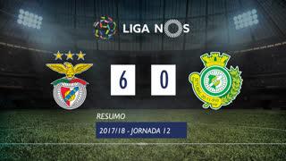 Liga NOS (12ªJ): Resumo SL Benfica 6-0 Vitória FC