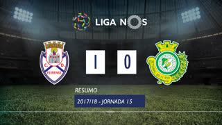 Liga NOS (15ªJ): Resumo CD Feirense 1-0 Vitória FC