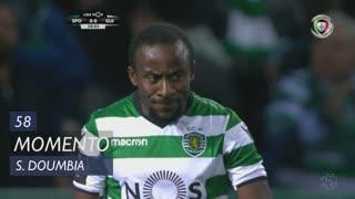 Sporting CP, Jogada, S. Doumbia aos 58'