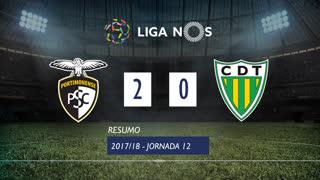 Liga NOS (12ªJ): Resumo Portimonense 2-0 CD Tondela