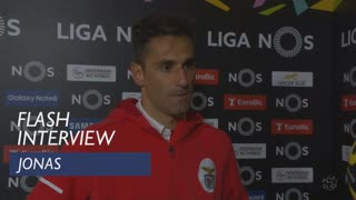 Liga (24ª): Flash interview Jonas