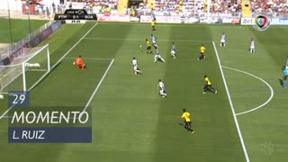 Boavista FC, Jogada, L. Ruiz aos 29'