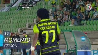 Sporting CP, Caso, Gelson Martins aos 39'