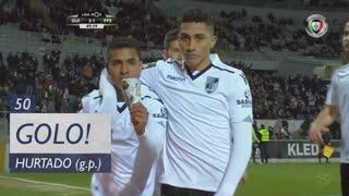 GOLO! Vitória SC, Hurtado aos 50', Vitória SC 3-1 FC P.Ferreira