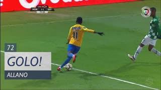 GOLO! Estoril Praia, Allano aos 72', Moreirense FC 1-1 Estoril Praia