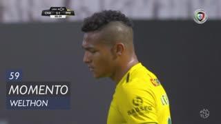 FC P.Ferreira, Jogada, Welthon aos 59'