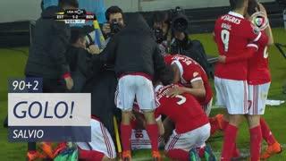 GOLO! SL Benfica, Salvio aos 90'+2', Estoril Praia 1-2 SL Benfica