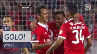 GOLO! SL Benfica, Jonas aos 30', SL Benfica 2-0 SC Braga
