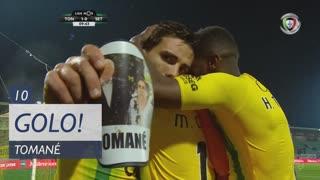 GOLO! CD Tondela, Tomané aos 10', CD Tondela 1-0 Vitória FC