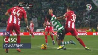 Sporting CP, Caso, Gelson Martins aos 50'