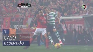 Sporting CP, Caso, Fábio Coentrão aos 3'