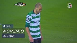 Sporting CP, Jogada, Bas Dost aos 45'+3'
