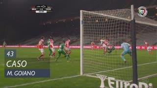SC Braga, Caso, Marcelo Goiano aos 43'