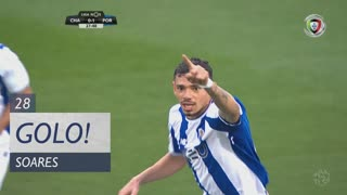 GOLO! FC Porto, Soares aos 28', GD Chaves 0-2 FC Porto