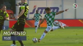 Moreirense FC, Jogada, Tozé aos 5'