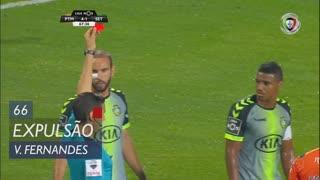 Vitória FC, Expulsão, Vasco Fernandes aos 66'