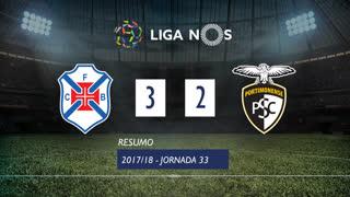 Liga NOS (33ªJ): Resumo Os Belenenses 3-2 Portimonense
