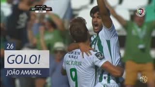 GOLO! Vitória FC, João Amaral aos 26', Vitória FC 2-0 SC Braga