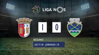 Liga NOS (10ªJ): Resumo SC Braga 1-0 GD Chaves